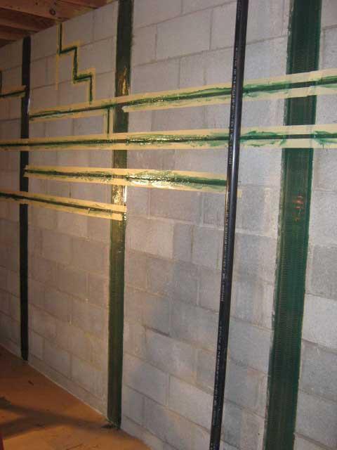 brothers waterproofing foundation crack repairs