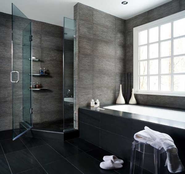 A totally customized and redesigned bathroom, from the ground up