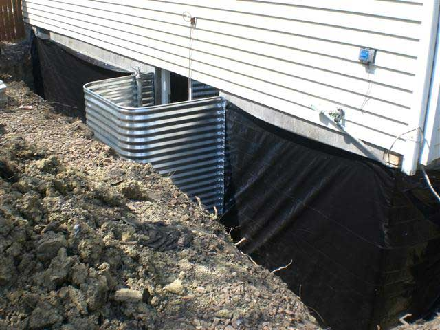 3 brothers waterproofing solutions serving pa nj and delaware Exterior basement waterproofing