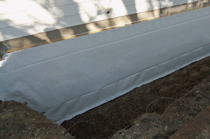 6 mill vapor barrier for outside walls